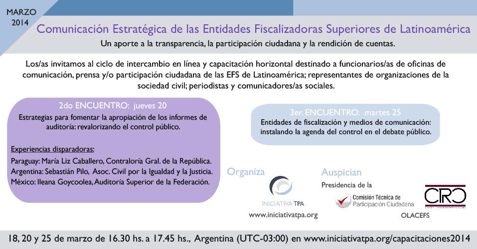 Flyer 2do encuentro webinar
