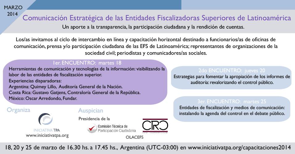 Flyer webinar 1er encuentro