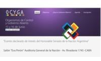 Evento sobre Organismos de Control y Gobierno Abierto en Argentina